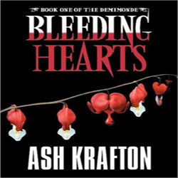 Review/Giveaway: Bleeding Hearts by Ash Krafton
