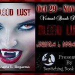 Promo Tour Stop + Giveaway: Blood Lust by Jessica Degarmo