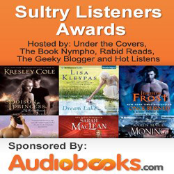 2012 Sultry Listeners Awards #Audiobooks