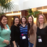 Jennifer Estep with Bloggers