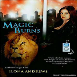 Audio Review: Magic Burns by Ilona Andrews