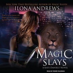 Audio Review: Magic Slays by Ilona Andrews