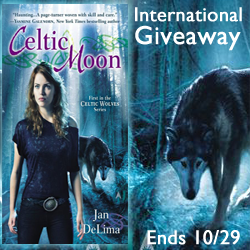 Interview and Giveaway with Jan DeLima, author of Celtic Moon