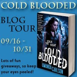Cold Blooded Tour Stop: Spotlight + Giveaway with Amanda Carlson