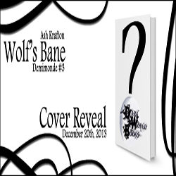 Cover Reveal: Wolf's Bane by Ash Krafton
