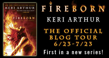 Fireborn blog tour banner
