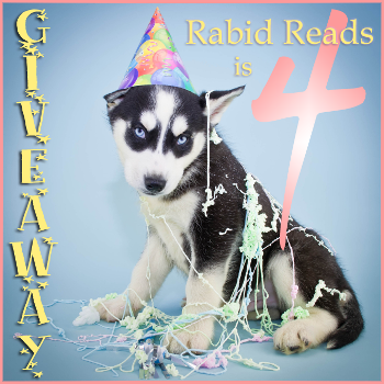Rabid Reads 4 Year Blogiversary Giveaway