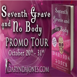 Tour Stop and Audiobook Review: Seventh Grave and No Body by Darynda Jones