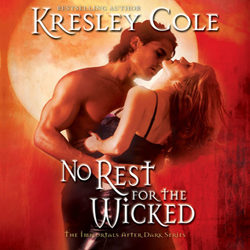 Audiobook Review: No Rest for the Wicked by Kresley Cole