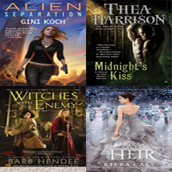 Fresh Meat: May 3-9th Speculative Fiction Releases