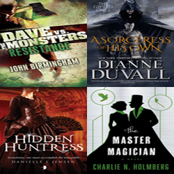 Fresh Meat: May 31-June 6th Speculative Fiction Releases