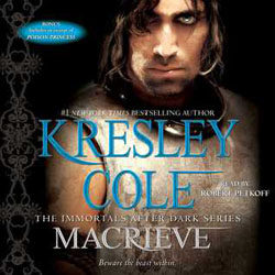 Audiobook Review: MacRieve by Kresley Cole (@kresleycole, @petkoff)