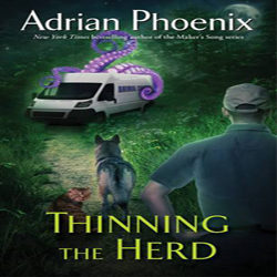 Review: Thinning the Herd by Adrian Phoenix (@AdrianPhoenix, @Pocket_Books)