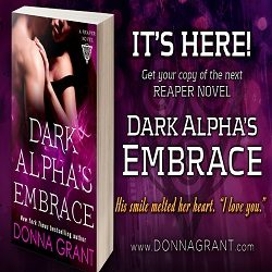 Guest Post and Giveaway: Dark Alpha's Embrace by Donna Grant (@donna_grant, @SMPRomance, @VivianaIzzo)