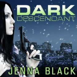 Audiobook Review: Dark Descendant by Jenna Black (@mlsimmons, @jennablack, @sereads, @tantoraudio)