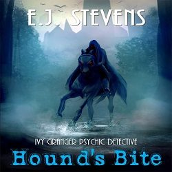Cover Reveal, Excerpt and Giveaway: Hound's Bite by E.J. Stevens (@EJStevensAuthor)