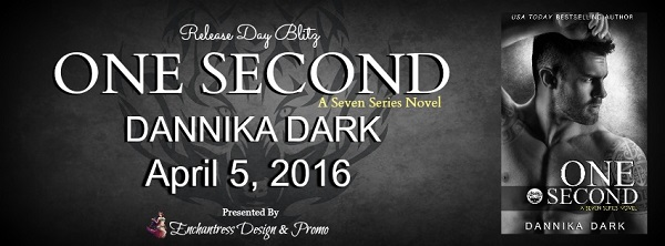 One Second Release Day Blitz Banner