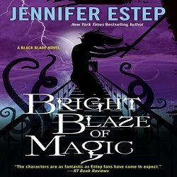 Review: Bright Blaze of Magic by Jennifer Estep (@Jennifer_Estep, @KensingtonBooks)