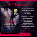Sale and Giveaway: Kristin Miller's Seattle Wolf Pack Box Set (@kristinmiller02, @entangledpub)