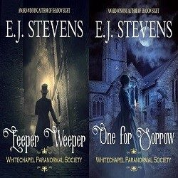 Dual Cover Reveal, Excerpt and Giveaway: Eeper Weeper and One for Sorrow by E.J. Stevens (@EJStevensAuthor)