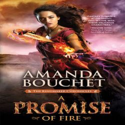 Review (and Squawk): A Promise of Fire by Amanda Bouchet