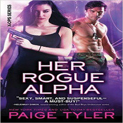 Review: Her Rogue Alpha by Paige Tyler (@mlsimmons, @paigetyler, @SourcebooksCasa)