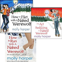 Audiobook Series Review: Naked Werewolf by Molly Harper (@mlsimmons, @mollyharperauth)