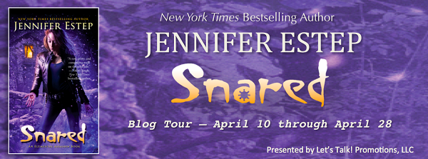 5 copies of SNARED by Jennifer Estep, $20 Amazon GC