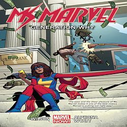 Review: Ms. Marvel, Vol. 2: Generation Why by G. Willow Wilson