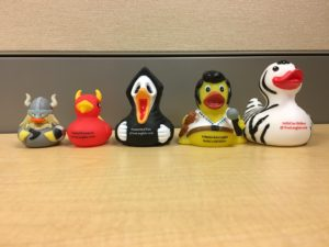 Melanie's #RT17 Duckies courteous of Eve Langlais and Asa Maria Bradley