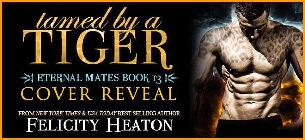 Tamed by a Tiger Cover Reveal Banner