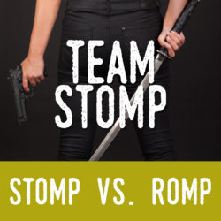 Why Jess Haines Prefers STOMP Over ROMP (@Jess_Haines) #StompvsRomp #Giveaway