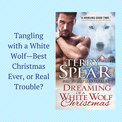 Excerpt and Giveaway: Dreaming of a White Wolf Christmas by Terry Spear (@TerrySpear, @SourcebooksCasa)