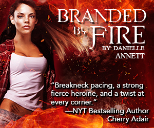 Branded by Fire by Danielle Annett