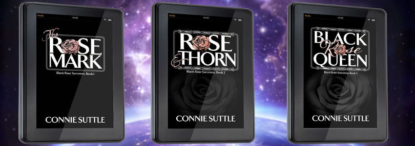 Black Rose Sorceress Series by Connie Suttle