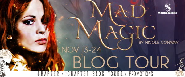 Nicole Conway's Mad Magic Blog Tour