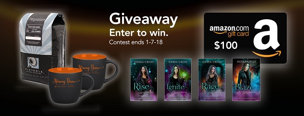$100 Amazon GC, signed paperbacks & swag