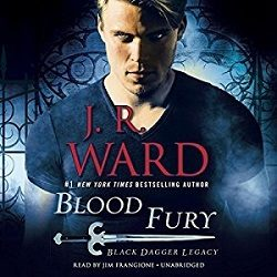 Audiobook Review: Blood Fury by J.R. Ward (@Mollykatie112, @JRWard1, @PRHAudio)