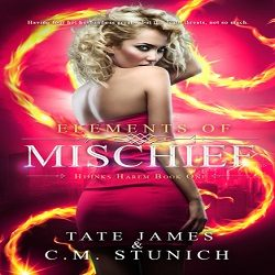 Guest Post and Giveaway: Elements of Mischief by C.M. Stunich and Tate James (@CMStunich, @XpressoTours)