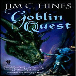 Review: Goblin Quest by Jim C. Hines (@mlsimmons, @JimCHines)